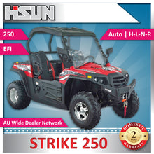 Load image into Gallery viewer, New Hisun 250 Strike Utility Vehicle includes Windscreen, Roof and Alloy Wheels