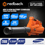 New RB-BL Redback 40V Cordless Blower with Turbo Boost feature  (Skin Only)