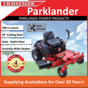 "New Parklander PZT-42D 42"" Cut 20hp Loncin OHV Zero Turn Lawn Mower"