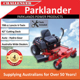 "New Parklander PZT-42DT 42"" Cut 22hp Loncin V-Twin OHV Zero Turn Lawn Mower"