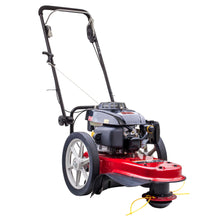 "Load image into Gallery viewer, New Parklander PET-51Y 160cc 22"" High Wheel Trimmer / Slasher Large Wheels"