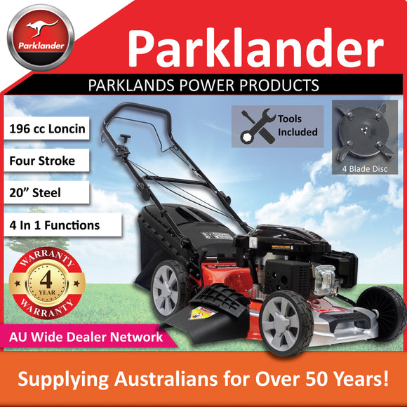 New Parklander Phantom 200 P3S6050L 196 cc Self-Propelled Push Lawn Mower