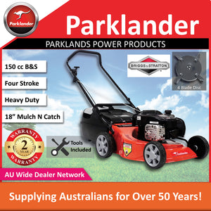 New Parklander Red Back 625E PCM6025EX 150cc Mulch and Catch Push Lawn Mower