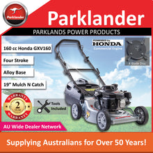 Load image into Gallery viewer, New Parklander Cobra PMS6040H Honda GXV160 160cc Alloy Push Lawn Mower
