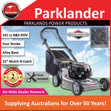 New Parklander Python PMAS7050 161 cc Easier Starting self-propelled Push Mower