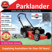 Load image into Gallery viewer, New Parklander Viper PMCA6040 Briggs & Stratton Alloy Push Lawn Mower