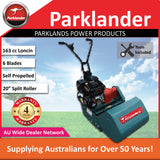 "New Parklander 53 20"" 163 cc Loncin Cylinder Reel Mower - Split Rear Roller"