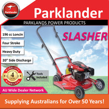 "Load image into Gallery viewer, New Parklander Big Roo 21"" Commercial Slashing Push Lawn Mower"