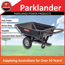 Load image into Gallery viewer, New Parklander Poly Trailer TC3080PL with tilt capability, tow behind Mower