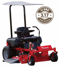 "Load image into Gallery viewer, New Parklander PZT-42RL 42"" Cut 22hp Loncin V-Twin OHV Fab Deck Zero Turn Mower"