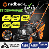 "Redback S461-VHYX18"" M/C Mower With side discharge,S/P Was$489 Now$375"