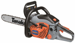 "New Tanaka TCS-33EB 32 cc Rear Handle Chainsaw 14"" Oregon Bar & Chain"
