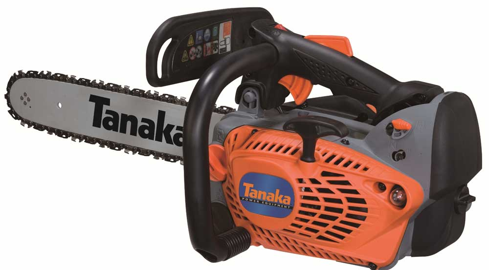 New Tanaka TCS-33EDT 32cc Top Handle Chainsaw 12