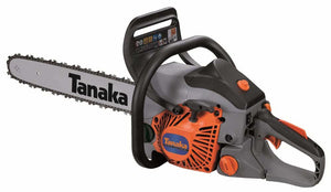"New Tanaka TCS-40EA-15 40 cc Rear Handle Chainsaw 15"" Oregon Bar & Chain"