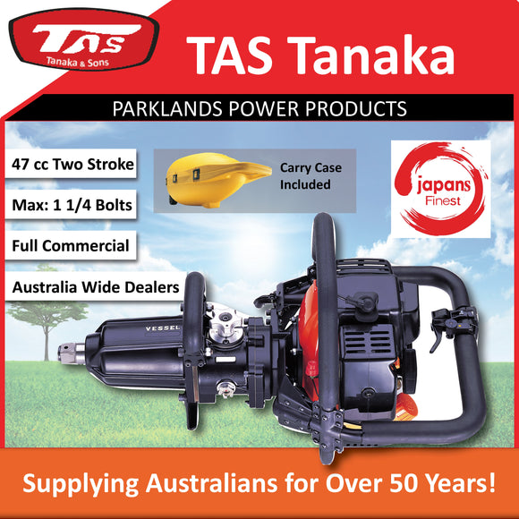 New Tanaka GT-3500E Industrial Vessel Impact Wrench | Up to: 1 1/4