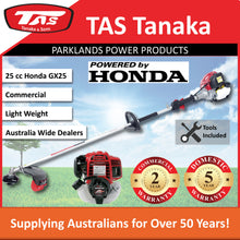 Load image into Gallery viewer, New TAS PRO-N26HC 25 cc Honda Brushcutter | 2 Yr Commercial 5 Yr Domestic Warranty - Trimmer