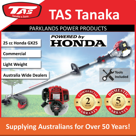 New TAS PRO-N26HC 25 cc Honda Brushcutter | 2 Yr Commercial 5 Yr Domestic Warranty - Trimmer