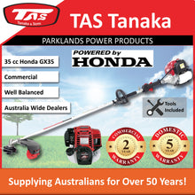 Load image into Gallery viewer, New TAS PRO-N35HC 35 cc Honda Brushcutter | 2 Yr Commercial 5 Yr Domestic Warranty - Trimmer