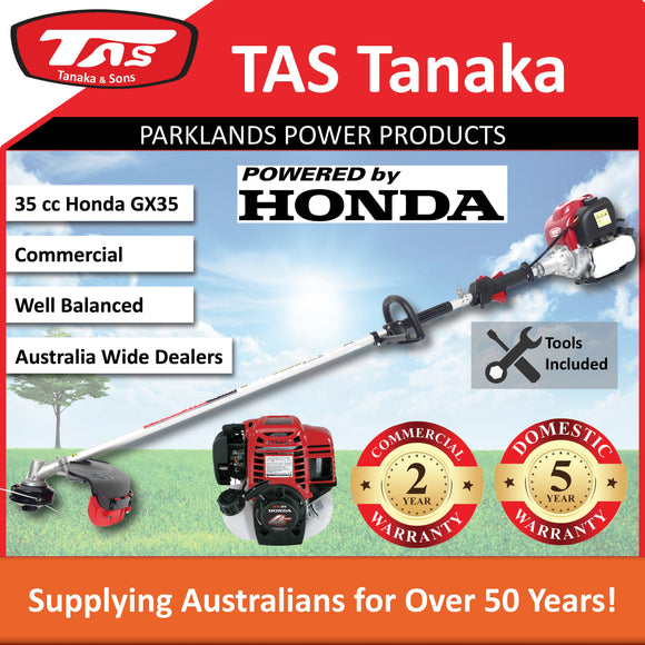 New TAS PRO-N35HC 35 cc Honda Brushcutter | 2 Yr Commercial 5 Yr Domestic Warranty - Trimmer