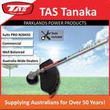 New TAS PRO-N26KSS 27cc Kawasaki Split Shaft Brushcutter Attachment - Trimmer