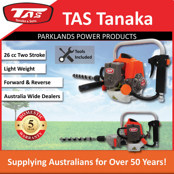 New TAS 26 cc Two Stroke Engine Drill PRO-TED260RS