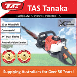 "New TAS PRO-TM2600M 24"" 20cc Mitsubishi Commercial Hedgetrimmer"