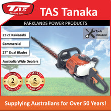 "Load image into Gallery viewer, New TAS PRO-TM3200K 27"" 23cc Kawasaki Commercial Hedgetrimmer"
