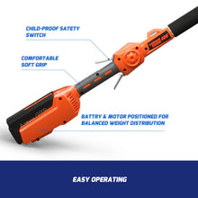 Load image into Gallery viewer, Redback 40V Cordless Long Reach Pole Saw With 6Ah Battery(Li-Ion),Charger