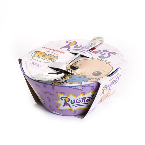 Rugrats Cereal Bowl & Spoon Set