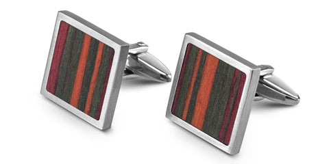 Wood Cufflinks | No. 931