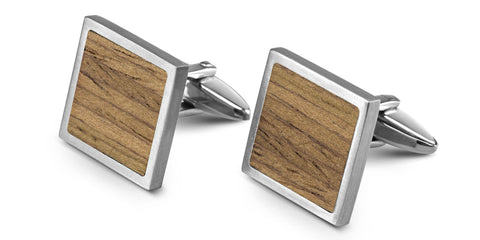 Wood Cufflinks | Oak
