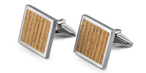 Wood Cufflinks | Fir
