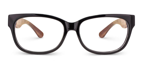 Olive | Black Blue Acetate & Redwood