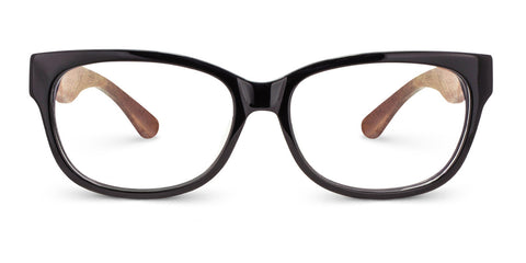 Olive | Black Acetate & Redwood