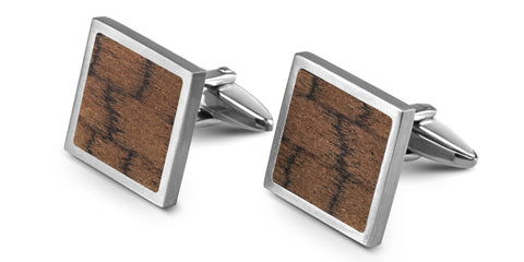 Wood Cufflinks | Snakewood