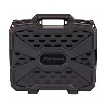 Flambeau Tactical Series Double Deep Pistol Case - Black 1511DDP