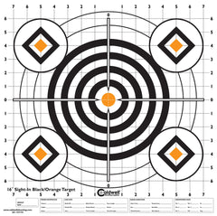 High-Contrast Sight-In Targets