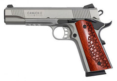 CANUCK Stainless 1911 SEMI AUTO, SINGLE ACTION
