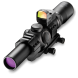Burris MTAC 1-4 x 24 Illuminated  Reticle with Fast Fire Red Dot and Mount