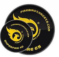Firebird Reactive Targets, For Live Firing Weapons - SniperFire 65mm Reactive Targets, 10-Pack
