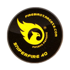 Firebird Reactive Targets, For Live Firing Weapons - SniperFire 40mm Reactive Targets, 10-Pack