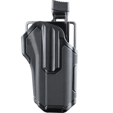 BLACKHAWK - Omnivore Multi fit Holster for Most Handguns with Rails Grey/Black