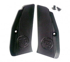 CZ 97B aluminum black checker grips factory