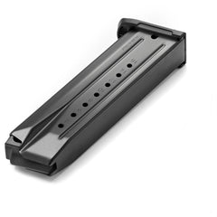Ruger SR9/9E Magazine, 9mm Luger, 10 Round, Steel Body, Polymer Base Plate, Black Finish, 90325