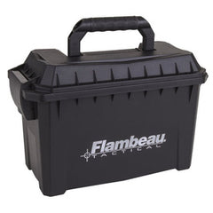 Flambeau Compact Tactical Ammo Can 10.5x7.75x5.5 Polypropylene Black