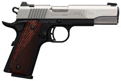 Browning 1911-380 Black Label Pro Medallion Stainless Full Size (Shot Show Special)