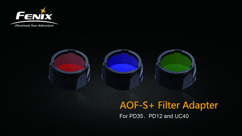 Filter Adapter (Red, Blue,Green)