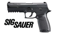 SIG-SAURER P320 with contrast sights, 9MM