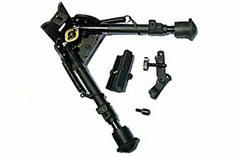 "9-12"" Bipod (Harris Clone) with Three Adaptors"
