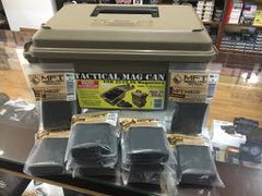 MTM Tactical Magazine Can - TMC15 Combo Special with 10 x MFT 10 Round AR-15 Pistol Mags